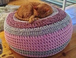 Cat Bed Pattern Crochet Pet Bed Free Pattern All The Best Ideas