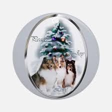 sheltie christmas ornament cafepress