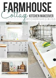 cottage kitchen furniture farmhouse cottage kitchen reveal cherished bliss