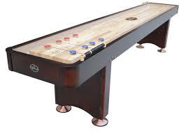 How Long Is A Shuffleboard Table by 14 U0027 Georgetown Espresso Shuffleboard Shuffleboard Net