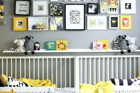 Modern Nursery Wall Decor Modern Nursery Wall Decor Yellow And Gray Simple Kitchen Detail