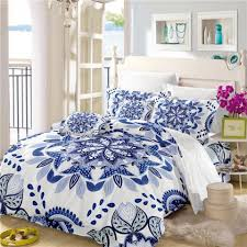 Royal Bedding Sets Blue King 3pcs Deluxe Classic Royal Bedding Set