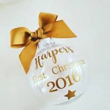 Baby S First Christmas Baubles Uk by Check Out This Item In My Etsy Shop Https Www Etsy Com Uk