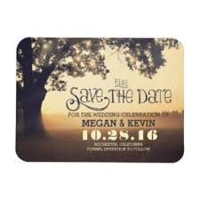 save the dates magnets tree save the date refrigerator magnets zazzle