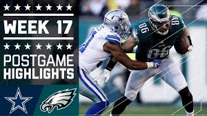 cowboys vs eagles nfl week 17 highlights