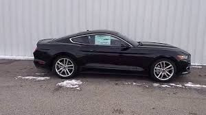 Mustang Fastback Black Shadow Black 2016 Mustang Ecoboost Fastback Premium 2 3l 201a