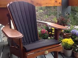 Chair Cushion Color Adirondack Chair Cushion In Various Colours Ontaria Eu