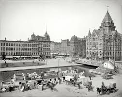 Clinton New York Home Shorpy Historic Picture Archive Clinton Square 1905 High