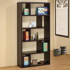 coaster furniture 800296 contemporary bookshelf in cappuccino