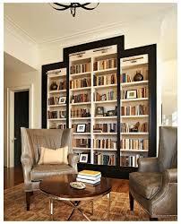 furniture attractive white bookshelves in asymmetrical design