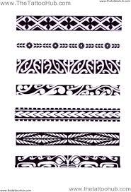 padrões da tatuagem maori trevo flechas raízes máscara