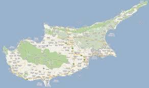 Map Of Cyprus Footiemap Com Cyprus 2010 2011 Map Of Top Tier Cypriot
