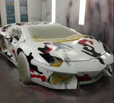 red camo lamborghini chris brown lamborghini aventador with