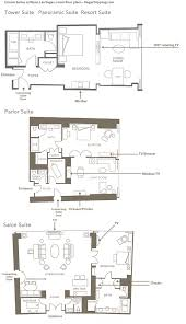 Hotel Suite Floor Plan Encore Suites Floor Plans Vegastripping Com