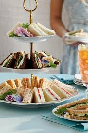 easy u0026 elegant tea sandwiches southern living