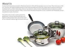 cuisine et santé cuisine santé international a propos de nous