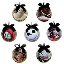 nightmare before ornaments x