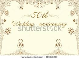 50th Wedding Anniversary Program 50th Wedding Anniversary Stock Images Royalty Free Images