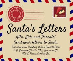 letters to santa mailbox santa letters visit winchester