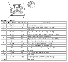 delphi radio wiring diagram chevrolet cobalt 2006 u2k stereo best