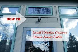 how to install sensor light diy install outdoor motion sensor light youtube