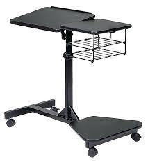 Staples Laptop Desk Rolling Laptop Desk Adjustable Mahogany Staples Interque Co