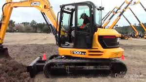 features of the 10 ton jcb 100 c 1 compact excavator youtube