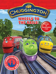 chuggington coloring book chuggington giant coloring book wheels to the rails modern
