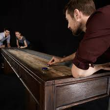 barrington 9 solid wood shuffleboard table barrington 12 ft webster shuffleboard table