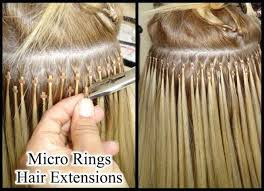 beaded hair extensions before and after micro hair extensions yelp