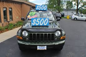 2006 jeep liberty green 4x4 used suv sale
