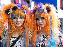 harajuku halloween costume harajuku halloween girls on takeshita dori