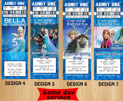 frozen movie birthday invitations vertabox com