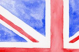 England Flag Colors Watercolor British Flag By Cornercroft Thehungryjpeg Com