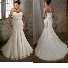 mermaid style wedding dress morilee by julietta lace wedding dress w veil size 16 plus size