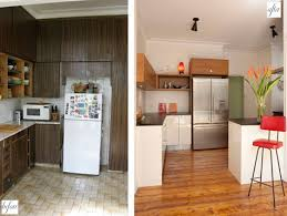 Pictures Of Small Kitchens Makeovers - useful before and after small kitchen makeovers unique
