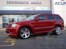 jeep acura pre owned 2010 jeep grand cherokee srt8 suv in bridgewater