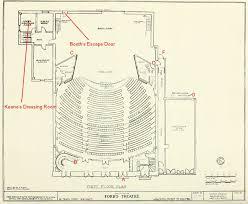 National Theatre Floor Plan Civil War Blog The Architecture Of Ford U0027s Theatre U0026 Laura Keene