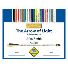 Cub Scout Arrow Of Light Arrow Of Light Kit Everything You Need To Make Your Arrow Of