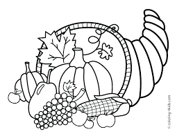 thanksgiving coloring pages printables disney preschool for toddlers