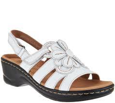 youtube lexus velcro clarks leather lightweight sandals lexi venice page 1 u2014 qvc com