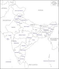 India Map With States by India Map Printout Blank Physical Map Of India Inspiring World Map
