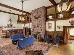 tudor home interior english tudor style american castle in the rocky mountains