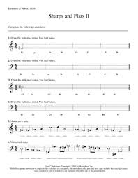 worksheets elements of music