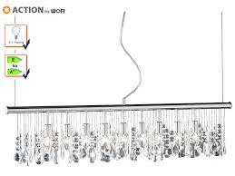 Pendelleuchten Esszimmer Ebay 9 Fl Pendelleuchte Chrom U0026 Kristallbehang Klar L 120cm