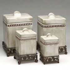 tuscan kitchen canisters ceramic kitchen canisters sets foter
