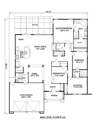 perfect adobe house plans first floor plan of santa fe inside