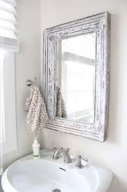Shabby Chic Bathroom Furniture Shabby Chic Bathroom Mirror Diy Project Bathroom Mirrors