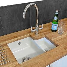 Undermount Kitchen Sinks Under Worktop Sinks Tap Warehouse - White undermount kitchen sinks