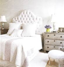 headboard stella crystal tufted white modern bed with